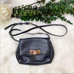 Pebbled Leather Crossbody Michael Kors Callie